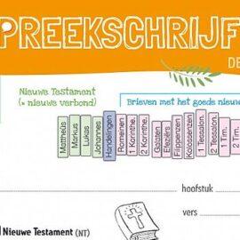 Download gratis HGJB preekschrijfkaarten